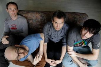 תעני אסתר. מימין: שי, דיוויד, יונתן, ניר.            צילום: מיכל שני