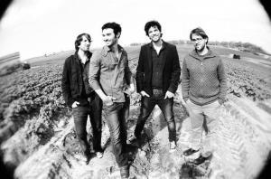 מימין: טל תפוחי, דיוויד בלאו, ניתאי גבירץ, יואב רוזנטל. תמונה: ראובן גבירץ